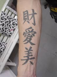 Japanese Tattoo On Arm