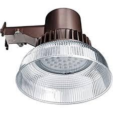 honeywell outdoor led security light floodlight 4000 lumens dusk