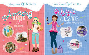 Let The Sleepover Girls Help Easy Recipes Crafts And Other How Tos Combined With Step By Instructions Colorful Photos Will You Throw