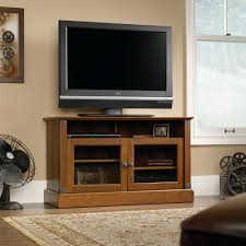 Furnitures: Using Wondrous Sauder Tv Stand For Modern Home ... Corner Tv Cabinet With Doors For Flat Screens Inspirative Stands Wall Beautiful Mounted Tv Living Room Fniture The Home Depot 33 Wonderful Armoire Picture Ipirations Best 25 Tv Ideas On Pinterest Corner Units Floor Mirror Rockefeller Trendy Eertainment Center Low Screen Stand And Stands For Flat Screen Units Stunning Built In Cabinet Modern Built In Oak Unit Awesome Cabinets Wooden Amazing