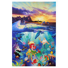 100 Christian Lassen Riese Under The Sea PaperFramed