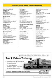 100 Allstate Trucking Wisconsin Motor Carriers Association Membership Directory 2013