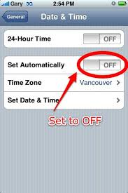 How to Fix the Rogers 3G Date & Time Error