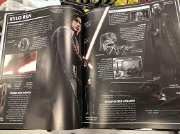 The Last Jedi Visual Dictionary Kylo Ren