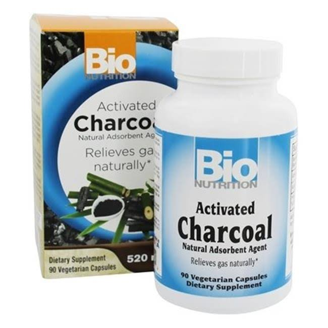 Bio Nutrition Activated Charcoal 90 VGC