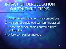 100 Trucking Deregulation HIGHWAY CARRIERS Chapter Four Ppt Download