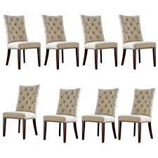 parsons chair w nailheads modern amherst casual parson chairs tan