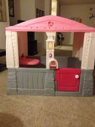 Step2 Happy Home Cottage U0026 by Step2 Neat And Tidy Cottage Playhouse Pink Walmart Com