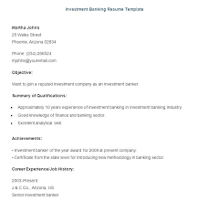 Sample Resume Of Banking Professional And Investment Template Download To Create Astounding Templates 756