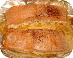 comment cuisiner un pavé de saumon papillote de saumon à la crème