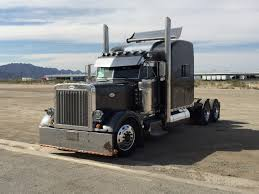American Classic Studio Sleeper Peterbilt Truck - YouTube