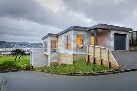 100 Downslope House Designs Hill Builds Building On A Slope NZ Hillside Building