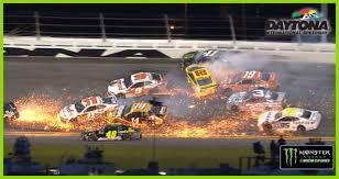 100 Nascar Truck Race Results Mayhem At Daytona Multicar Wreck Unfolds NASCARcom