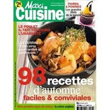 recettes maxi cuisine cuisine 83 98 recettes d automne faciles conviviales poulet