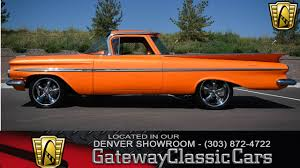 1959 Chevrolet El Camino | Gateway Classic Cars | 103-DEN 1959 Chevrolet Apache For Sale Classiccarscom Cc954764 Sale Near Charlotte North Carolina 28269 300327equipped Napco 44 31 Project Bring A Trailer Suburban 4x4 Clean Vintage Truck Chevy Fleetside Truck 4x4 Chevrolet Apache Stepside Pickup Truck 1958 What Your 51959 Should Never Be Without Myrideismecom Panel Van Stock Photos Images Alamy Hot Rod Network This Equipped 3600 Is A No Nonse Go