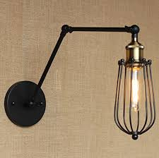 corridors swing arm wall l cage shape industrial edison