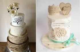 Wood Effect Cakes By Liv Sandberg Cake Art Left Snowdrop Cakery Adoption Right