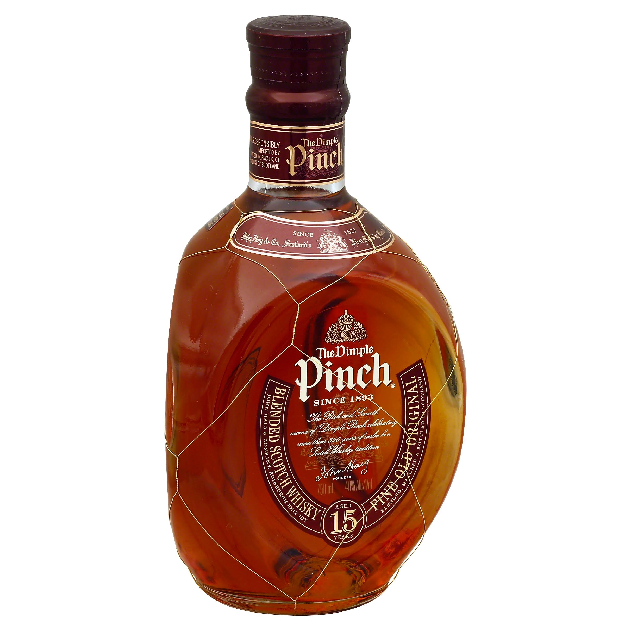 Dimple Pinch Scotch Whiskey - 750ml