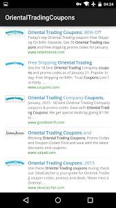 OTCoupons For Android - APK Download Hewitt Meschooling Promo Code North American Bear Company Oriental Trading Company 64labs Patriotic Stuffed Dinosaurs Trading Discount Coupon Jan 2018 Mi Pueblito Coupons Free Shipping Codes Best Whosale 6color Crayons 48 Boxes Place To Buy Ray Bans Cherry Blossom Invitations Orientaltradingcom 8 Pack For