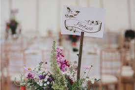 100 Wedding Table Name Ideas