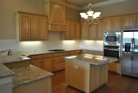 attractive kitchens with light wood cabinets and countertops