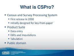 bureau of census and statistics census mobile data capture cspro in lesotho ppt