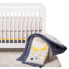 Trend Lab Crib Bedding Set Galaxy Navy Tar