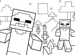 453x331 SkyDoesMinecraft From Minecraft Coloring Games