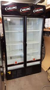 Sold Carling Drinks Display Fridge