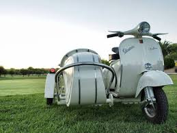 Vespa Vintage Sidecar For Sale 1964