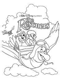 Pages Iphone Coloring Disney Rescuers With 34 Best Movie Covers