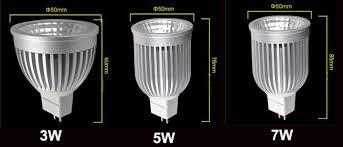 3w 5w 7w cob led spotlight bulbs l mr16 12v indoor spot lights