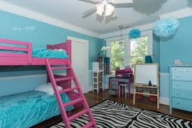 Bedroom Fascinating Blue And Pink Striped Childs Decor Painted Walls Teenage Wallpaper On Category With