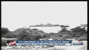 14 uss indianapolis survivors reuniting this weekend