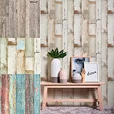 wall braune vliestapete holzoptik vintage wandbild holz