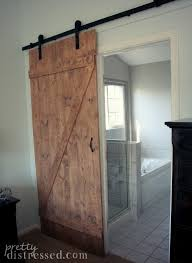Sliding Barn Door Bathroom Cheap Backsplash Ideas For Kitchen ... Barn Style Doors Bathroom Door Ideas How To Install Diy Network Blog Made Remade Bathrooms Design Froster Sliding Shower Doorssliding Fancy Privacy Teardrop Lock For Modern Double Sink Hang The Home Project Kids Window Cover For The Fabulous Master Bath Entrance With Our Antique Rustic Modern Industrial Cabinet