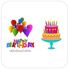 Animated Color Candle Cake Birthday Card