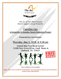 Families Can A University Of Houston Parent Education Project At