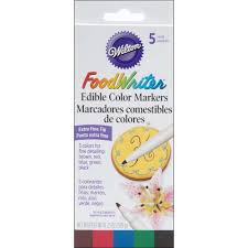 Wilton Decorator Preferred Fondant Walmart by Wilton Food Writer Extra Fine Tip Edible Color Marker Decorating