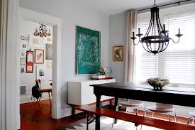 Sideboards And Buffets Dining Room Craftsman With Art Collection Bench Black Image By Corynne Pless