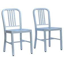 Metal Kitchen Chairs 15 Silver Dining