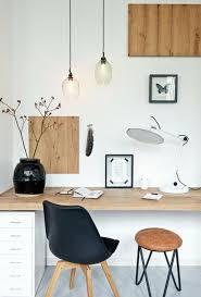 bureau stylé bureau blanc et bois bureau scandinave farringdon par bureau