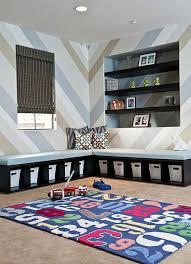 jeu de rangement de chambre rangement salle de jeux enfant 50 idées astucieuses meuble de