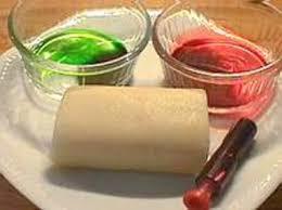 colorer de la pate d amande technique culinaire recette par