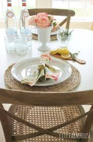 rustic lazy susan as fully functional turn table perfect for