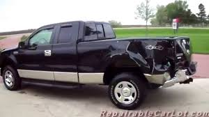 100 Wrecked Ford Trucks For Sale 2007 F150 SUPERCAB XLT 4X4 Repairable Wrecked Truck Autoplex