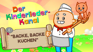 backe backe kuchen i kinderlied zum mitsingen auf i kinderlieder mit text