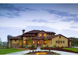 Stunning Santa Fe Home Design by Viscaya Luxury Italian Home Plan 101d 0019 House Plans And More