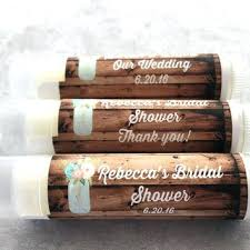 Rustic Wedding Shower Favors Vintage Blooms Party Bridal Lip Balm Engagement
