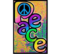Peace Love Happiness Poster Cheap Posters For Dorms Decorate Your